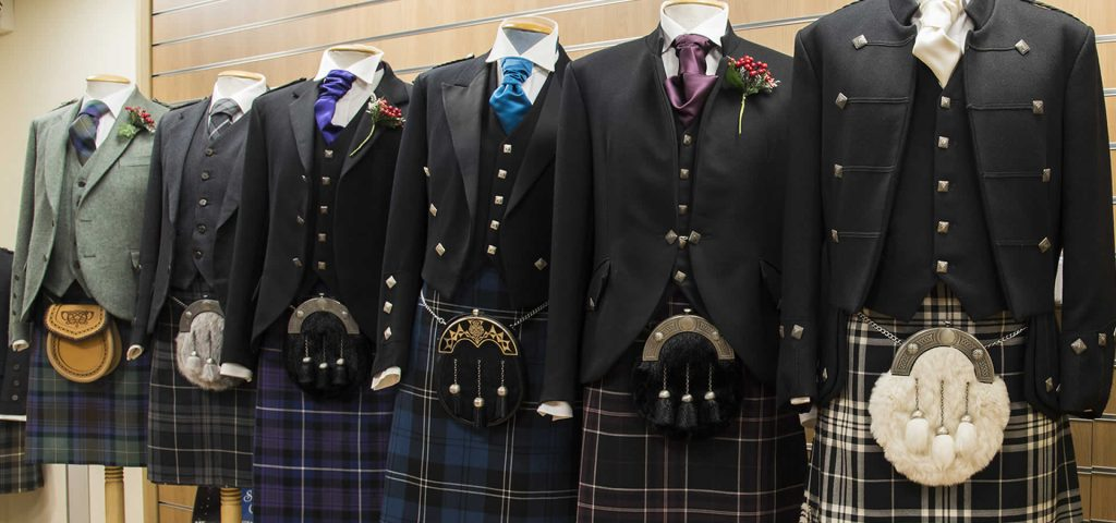 Full range of tartans available